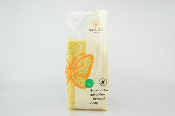 Obrázek Kukuřično - cizrnová strouhanka 200 g NATURAL