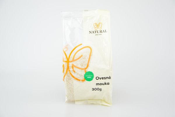 Obrázek Ovesná mouka 300 g NATURAL