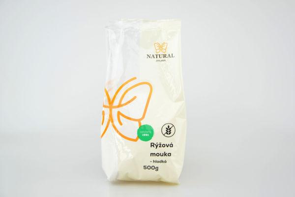Obrázek Rýžová mouka hladká 500 g NATURAL