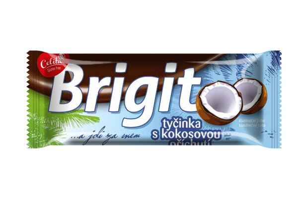 Obrázek Brigit tyčinka s kokosovou příchutí bzl 90 g CELIA