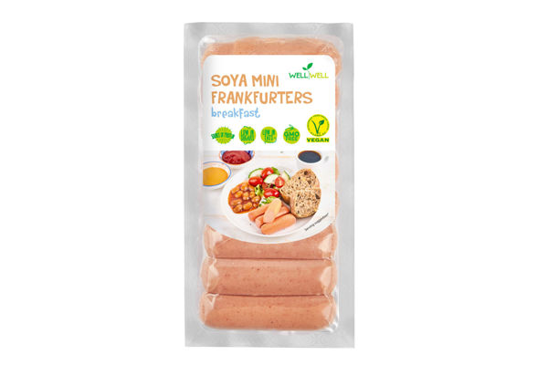 Obrázek Snídaňové sojové párečky 170 g WELL WELL