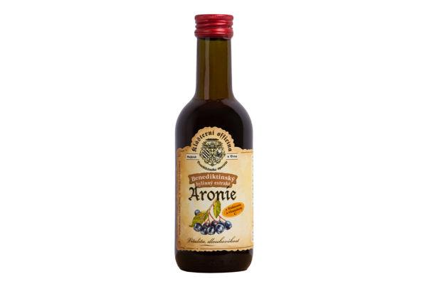 Obrázek Bylinný sirup - Aronie 290 g KLAOF
