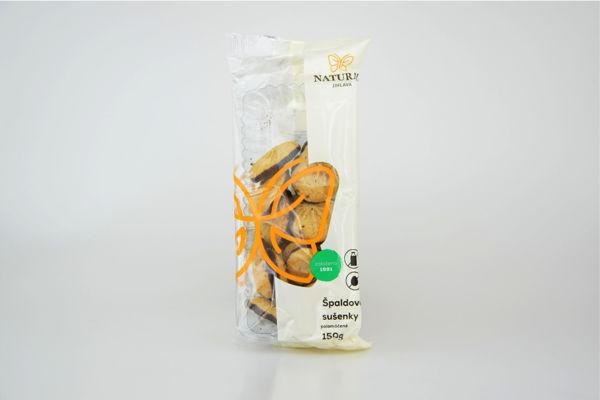 Obrázek Špaldové sušenky polomáčené 150 g NATURAL