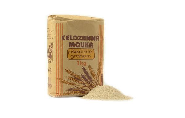 Obrázek Celozrnná mouka - pšeničná graham 1 kg NATURAL