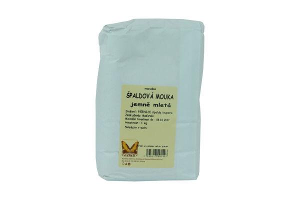 Obrázek Špaldová mouka jemně mletá 1kg NATURAL