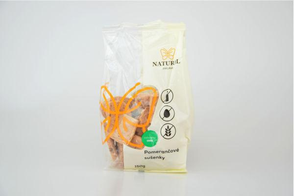 Obrázek Pomerančové sušenky 150 g NATURAL