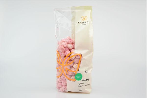 Obrázek Rýžové křupky jogurt brusinka 150g NATURAL
