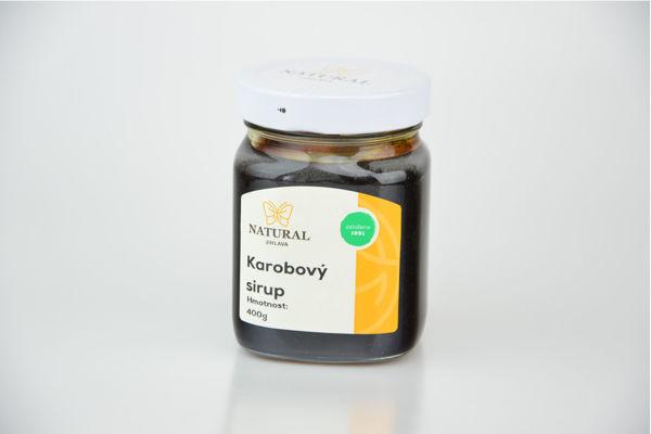 Obrázek Karobový sirup 400 g NATURAL