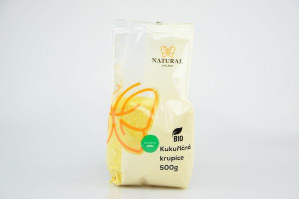 Obrázek Kukuřičná krupice 500 g NATURAL