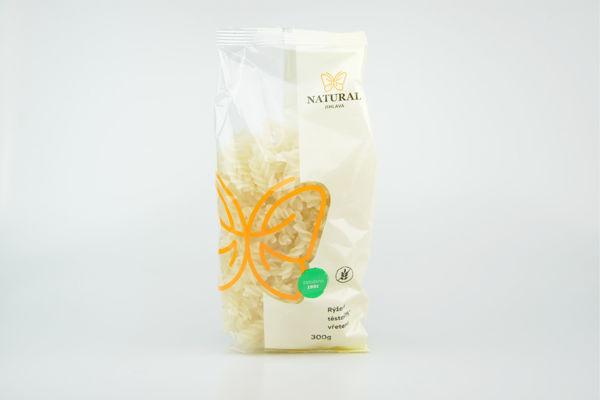 Obrázek Rýžové těstoviny vřetena 300 g NATURAL