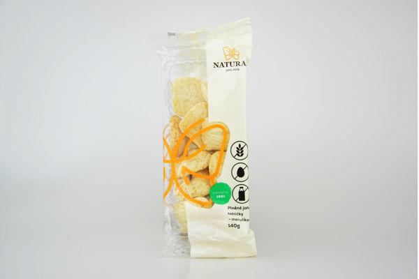 Obrázek Jahelné taštičky meruňkové bzl 140 g NATURAL