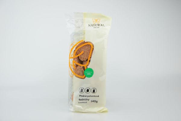 Obrázek Pohankové taštičky bzl - švestkové 140 g NATURAL