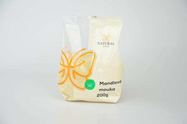 Obrázek Mandlová mouka jemně mletá 200 g NATURAL