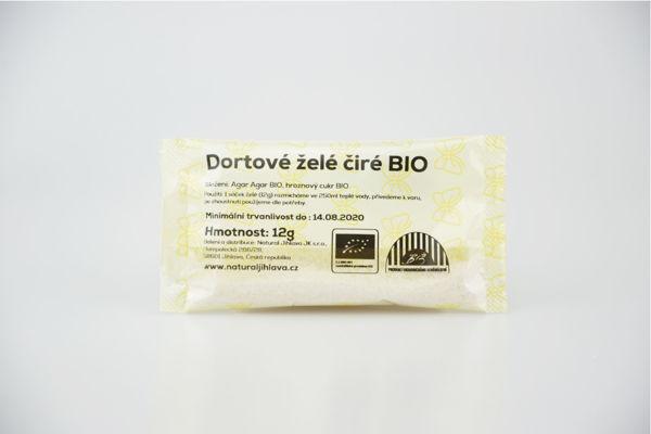 Obrázek Dortové želé čiré 12 g NATURAL