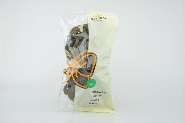 Obrázek Těstoviny z černé čočky 230 g NATURAL