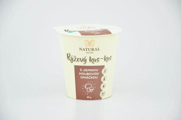 Obrázek Rýžový kus-kus s jemnou houbovou omáčkou bzl 85 g NATURAL