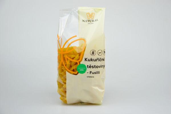 Obrázek Těstoviny kukuřičné - Fusilli 300 g NATURAL