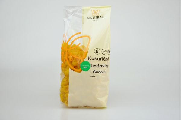 Obrázek Kukuřičné těstoviny - Gnocchi 300 g NATURAL