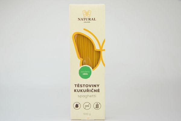 Obrázek Spagetti - kukuřičné bzl 500 g NATURAL