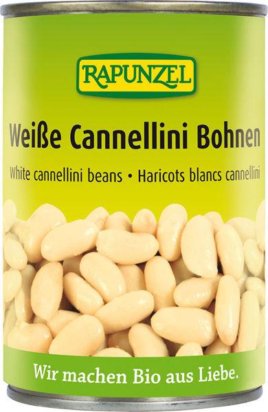 Obrázek Bílé fazole sterilované 400 g RAPUNZEL