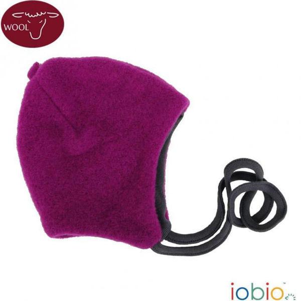 Obrázek Zimní čepice z vlněného flísu Iobio