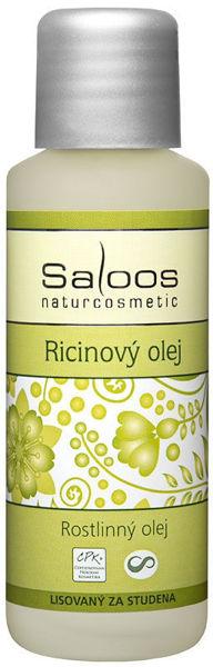Obrázek Rostlinný olej ricinový 50 ml SALOOS