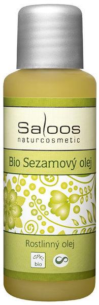 Obrázek Rostlinný olej sezamový 50 ml SALOOS