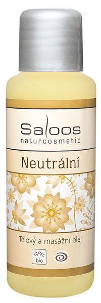 Obrázek Tělový a masážní olej neutrální 50 ml SALOOS