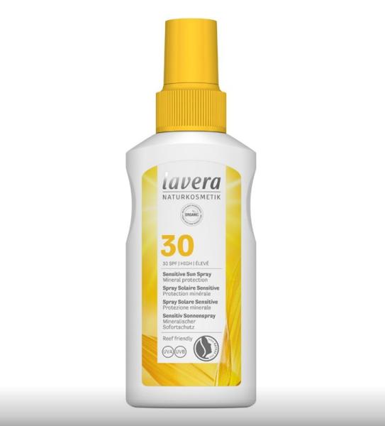 Obrázek Opalovací sprej ve spreji SENSITIVE SPF 30 100 ml Lavera