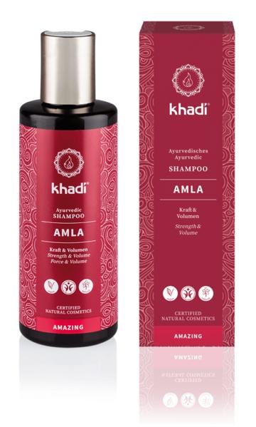 Obrázek Šampon Amla pro objem a lesk Khadi