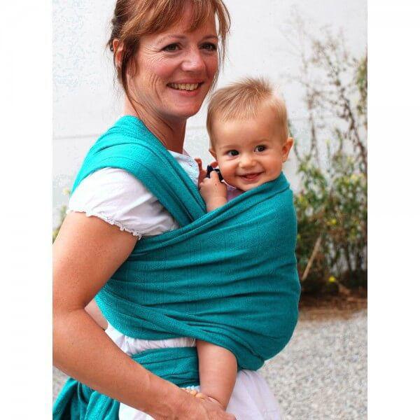 Obrázek Šátek Indio smaragd Didymos