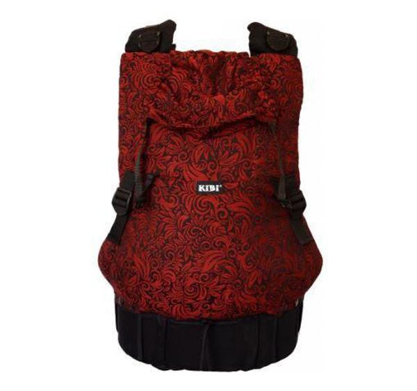 Obrázek Nosítko Flora red velvet KiBi