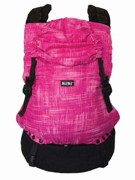 Obrázek Nosítko EVO Mramor růžový KiBi