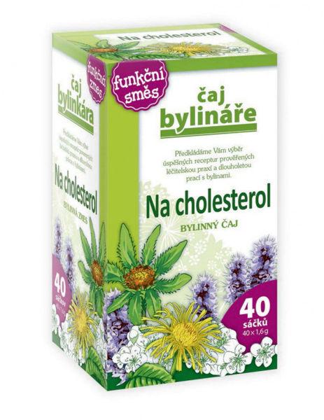 Obrázek Na cholesterol čaj 40 x 1,6 g BYLINÁŘ