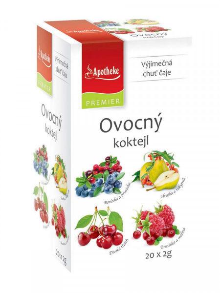 Obrázek Ovocný koktejl čaj.směsi 4v1 20 x 2 g APOTHEKE