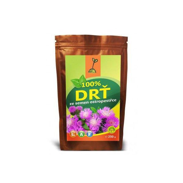 Obrázek 100% drť ze semen ostropestřce 250 g TML