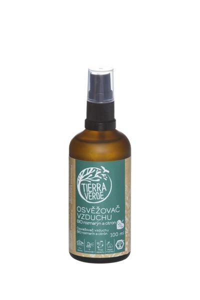 Obrázek Osvěžovač vzduchu – BIO rozmarýn a citron  100 ml Tierra Verde