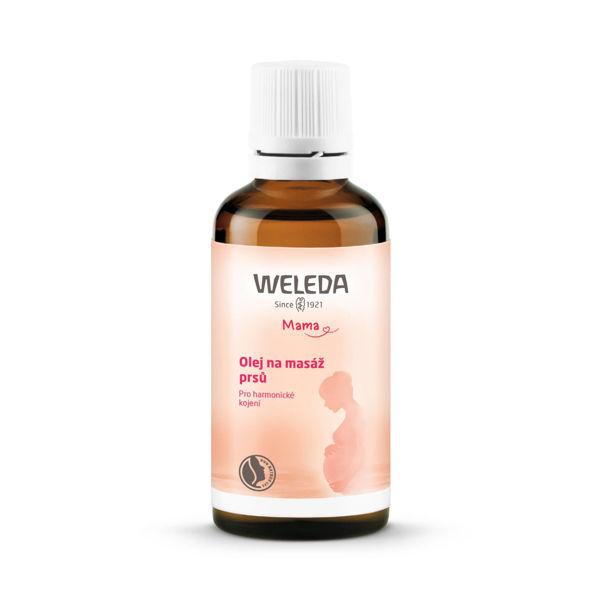 Obrázek Olej na masáž prsů 50 ml WELEDA