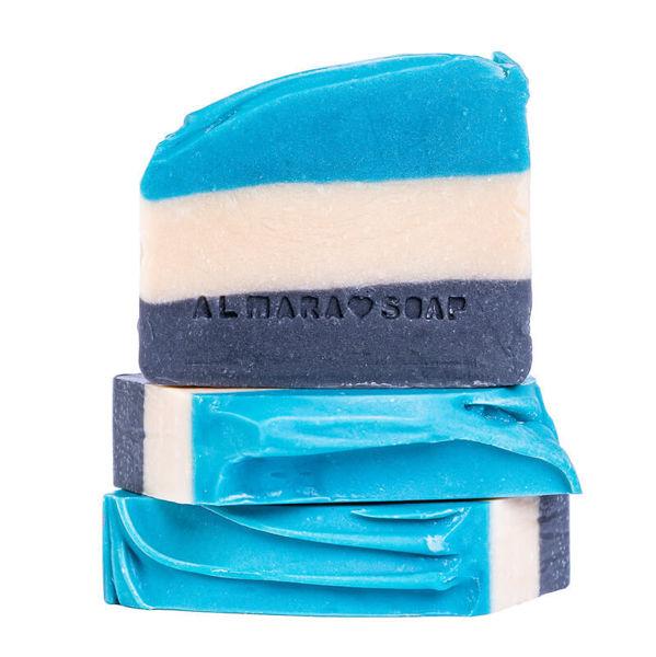 Obrázek TUHÉ MÝDLO GENTLEMEN'S CLUB LEMON 100 g ALMARA SOAP