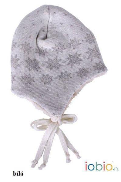 Obrázek Vlněná čepice z MERINO vlny Iobio