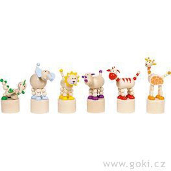 Obrázek Mačkací figurky - zvířátka z Afriky Goki