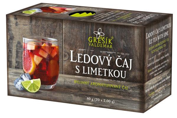 Obrázek Grešík Ledový čaj s limetkou 20 x 2,0 g