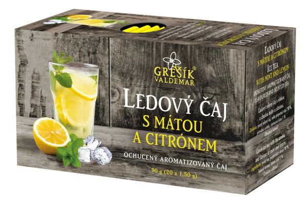 Obrázek Grešík Ledový čaj s mátou a citrónem 20 x 1,5 g