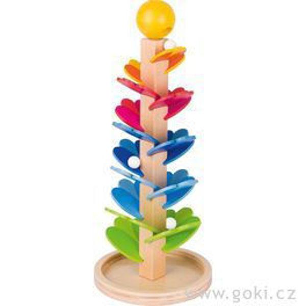 Obrázek Kuličková dráha - zpívající pagoda Goki