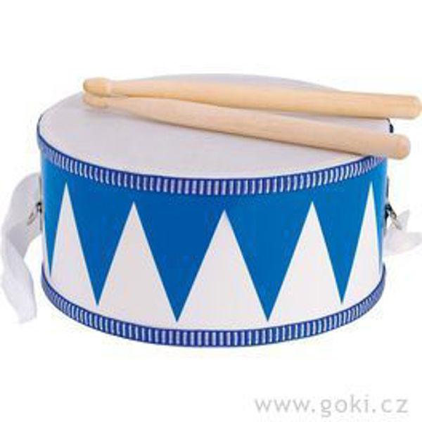 Obrázek Bubínek s dřevěnými paličkami, 20 cm Goki
