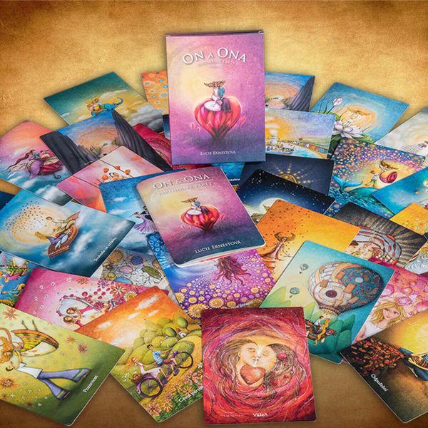 Obrázek On a Ona Partnerské karty Lucie Ernestová