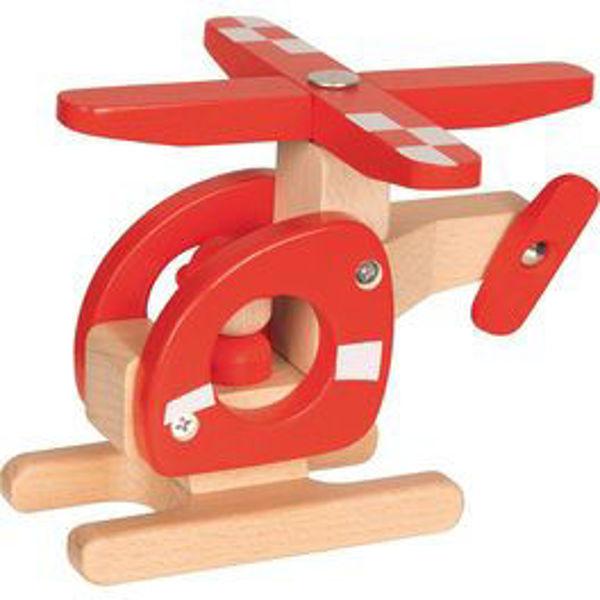 Obrázek Vrtulník - hračka ze dřeva Goki