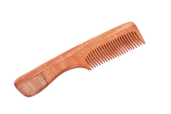 Obrázek Hřeben z nimbového dřeva – s rukojetí TIERRA VERDE