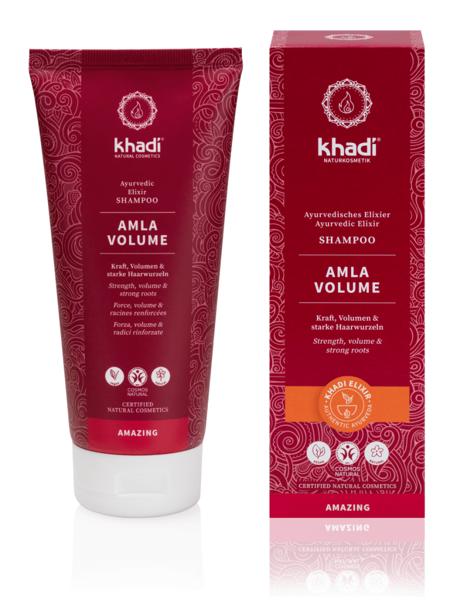 Obrázek Elixír šampon Amla objem 200 ml Khadi