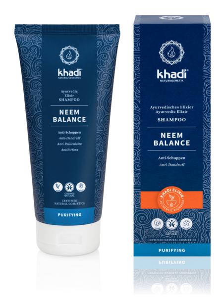 Obrázek Elixír šampon Neem balance 200 ml Khadi
